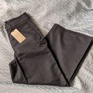 Halogen Wide Leg Cullotte Pant Black Size 0